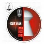 BSA Red Star Pellets for Air Rifles | Heavy Dome Head 8,02 gr | 0.177 – 4.5mm | 450 Pellets