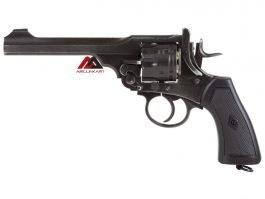 WEBLEY MKVI Pellet Co2 Air Revolver,Battlefield Finish